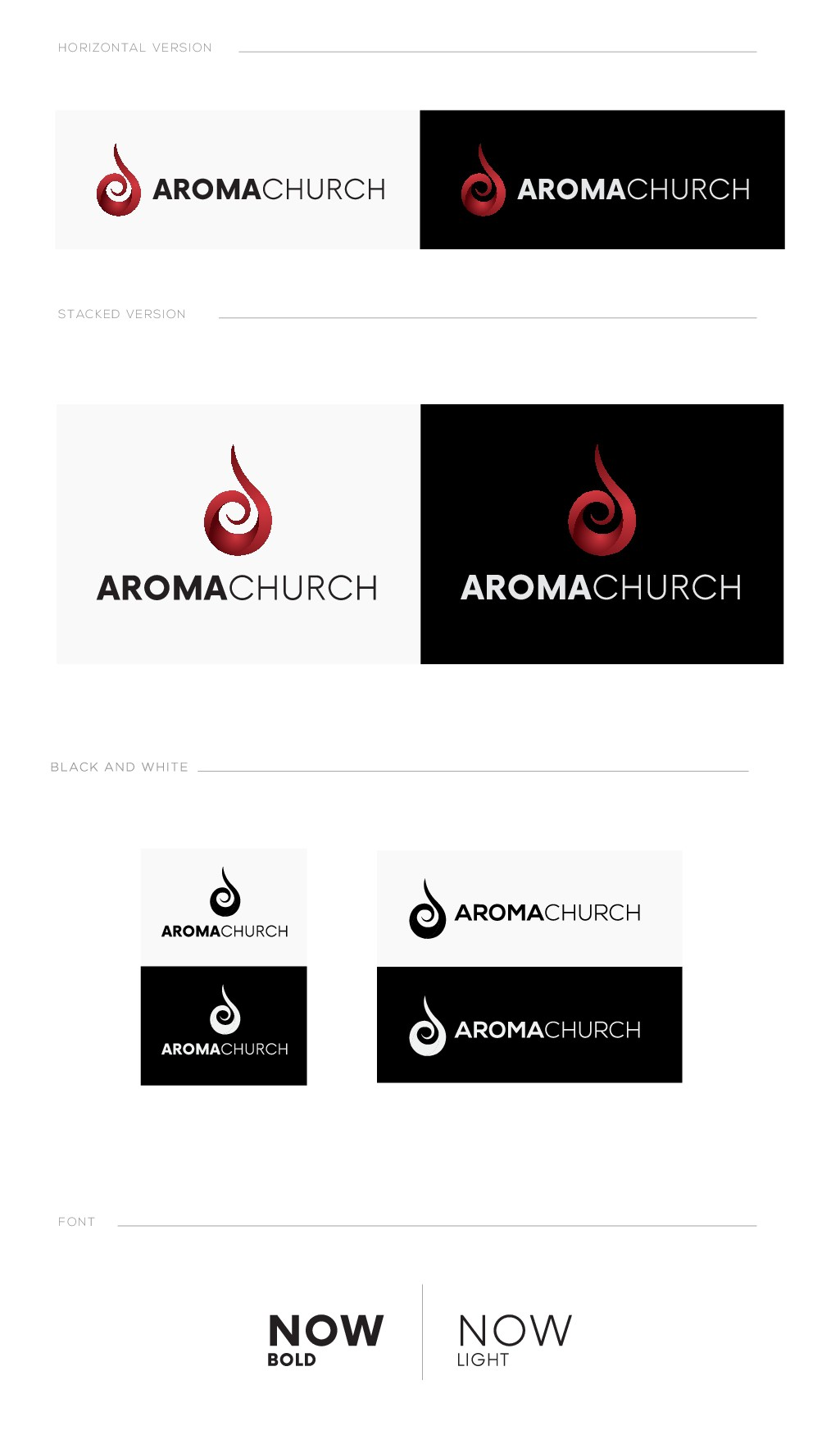 Brand new church looking for a brand new logo!
