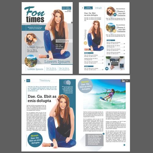 Lifestyle Magazine Concept