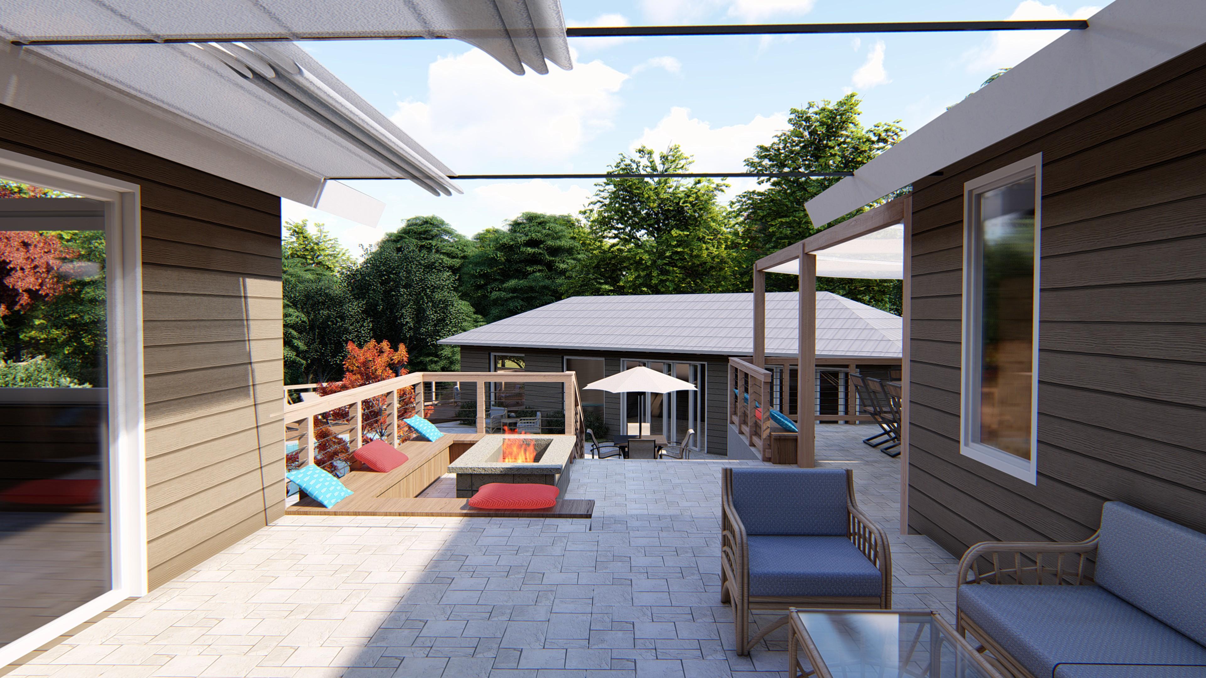 Neufeld residence renderings