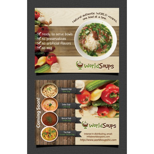 World Soups Flyer