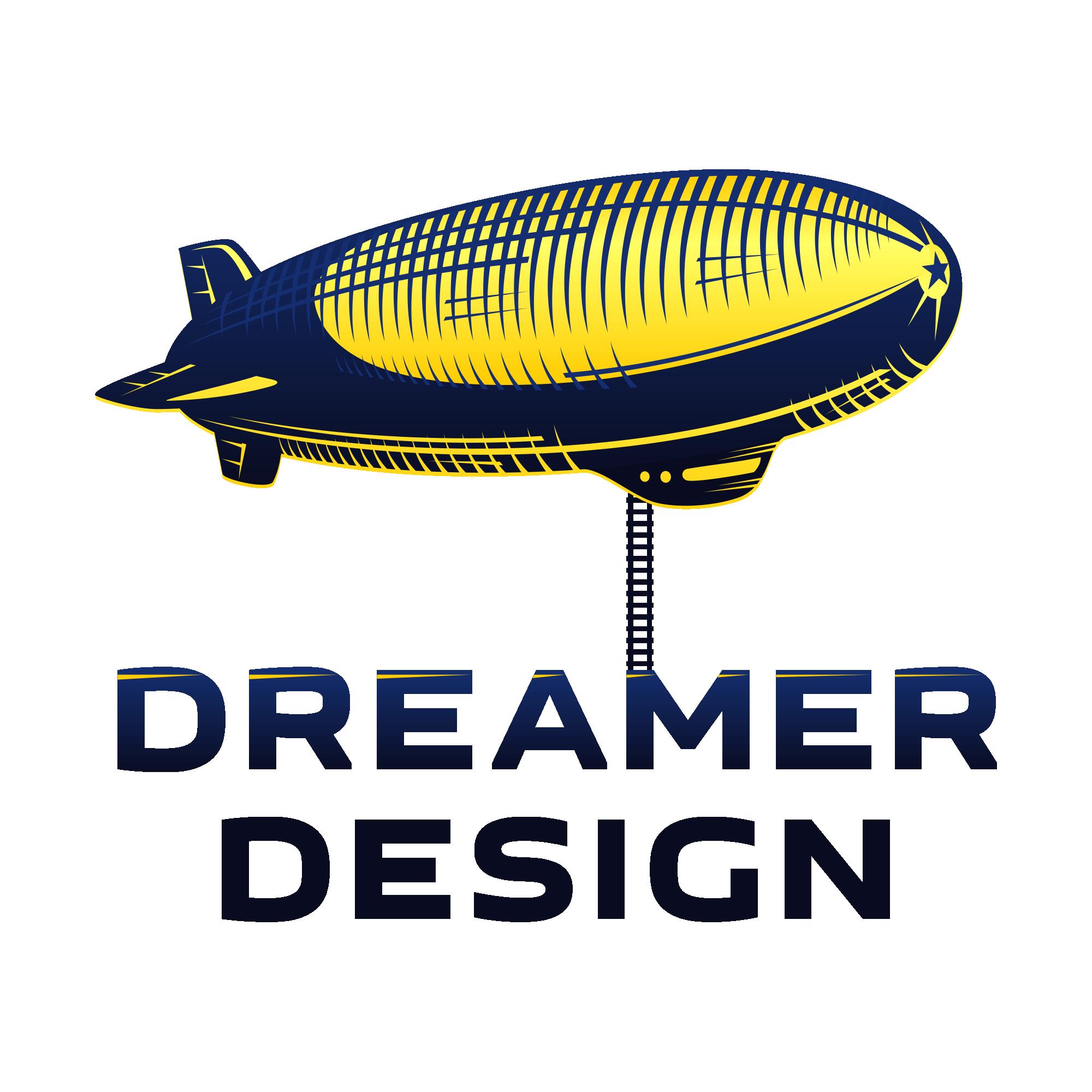 Create logo for new, innovative website design company, Dreamer Design!
