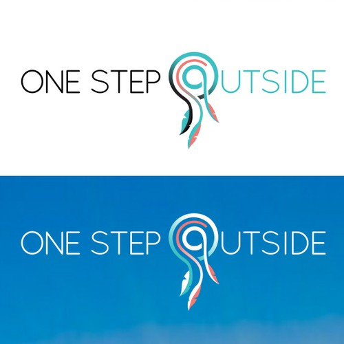 Dreamy logo for One Step Outside coaching