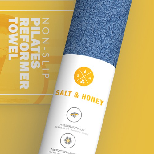 Pilates Reformer Towel Sleeve