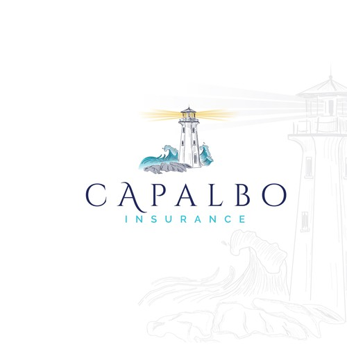 Capalbo Insurance logo - Unique spin for an old conservative industry