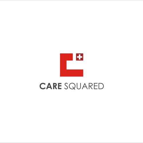 Create a logo for a new health technology non-profit, Care Squared