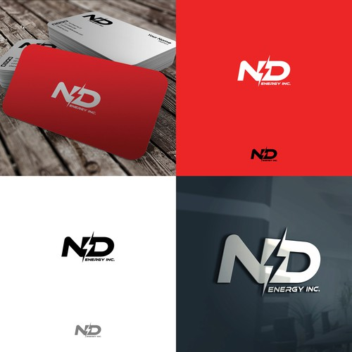 Logo design for ND Energy Inc.