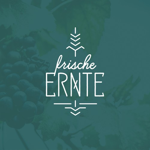 """Logo for the German DJ collective """"frische Ernte"""" – """"fresh harvest"""""""