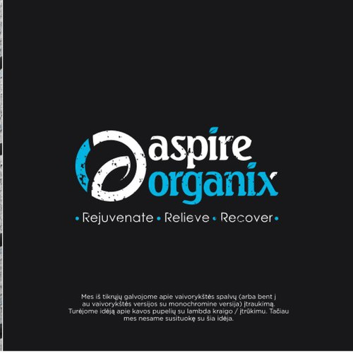 logo a + o for aspire organix