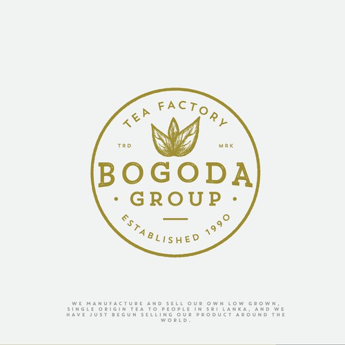 Logo for Bogoda Group - Tea Factory in Sri Lanka