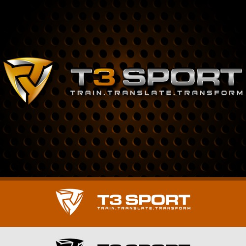 Logo concept for T3 sport