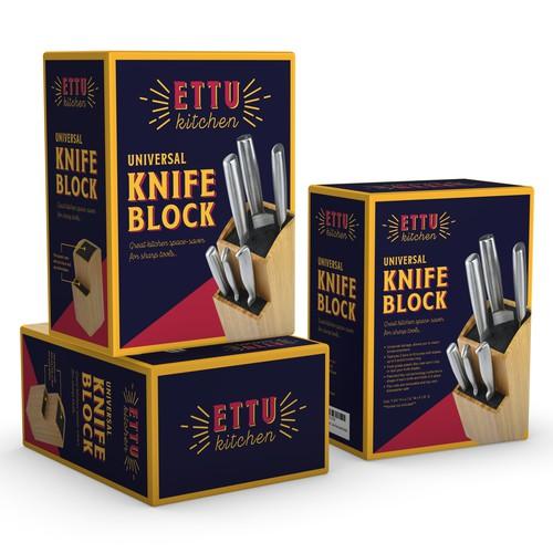 Universal Knife Block