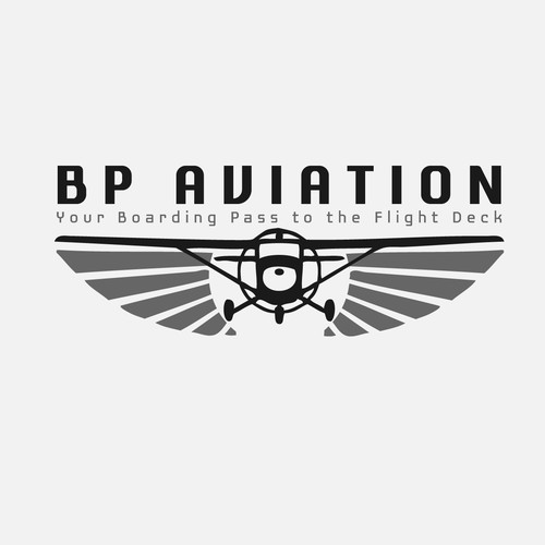 Logo for BP aviation