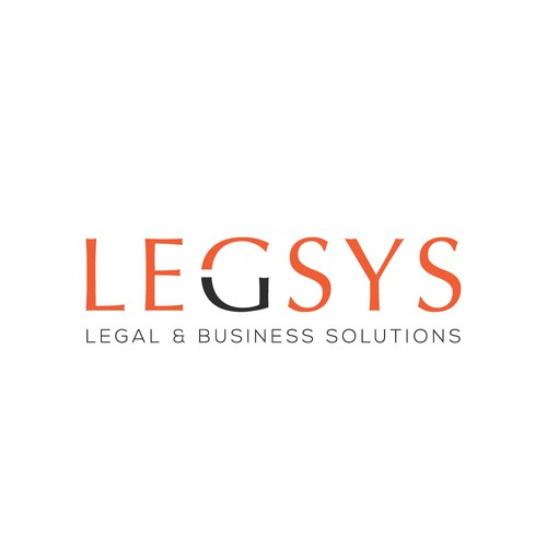 Elegance logo design for LEGSYS