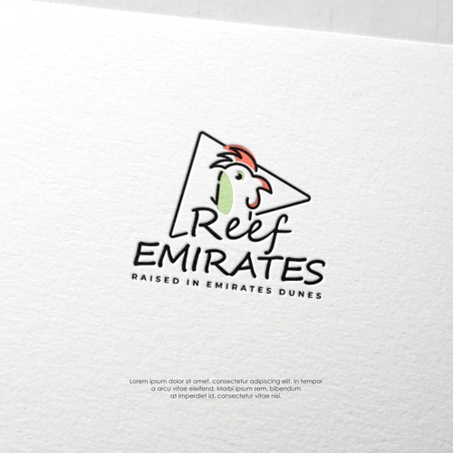 Logo concept for Reef Emirates