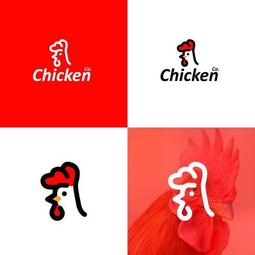 Line-Art Chicken