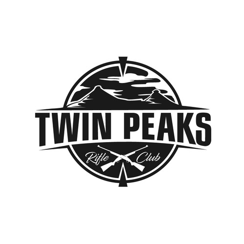 Twin Peaks. Logo for rifle club