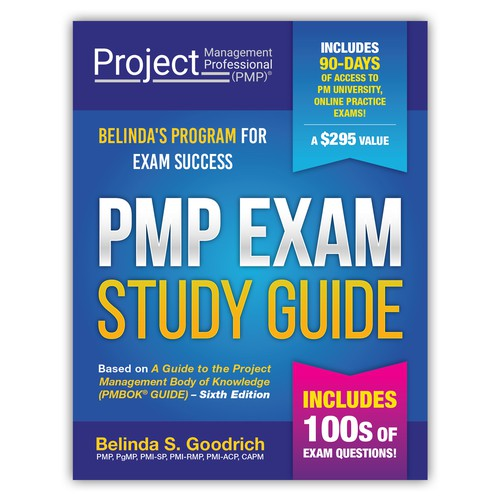 Book Cover Design for PMP Exam Study Guide