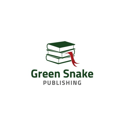 Create an iconic logo for Green Snake Publishing