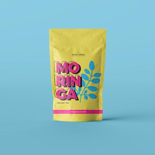 Pop Tea packaging