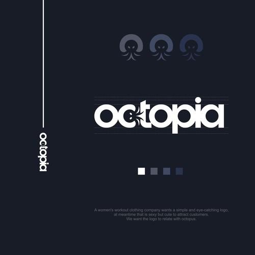 octopia logo design