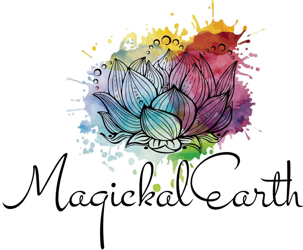 Create an engaging illustration logo for Magickal Earth