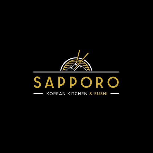 Logo remake for a korean grill and restaurant