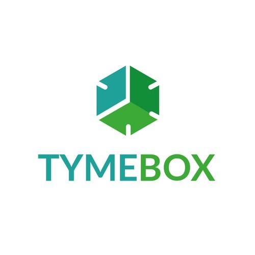 Bold logo for a Tyme-Box