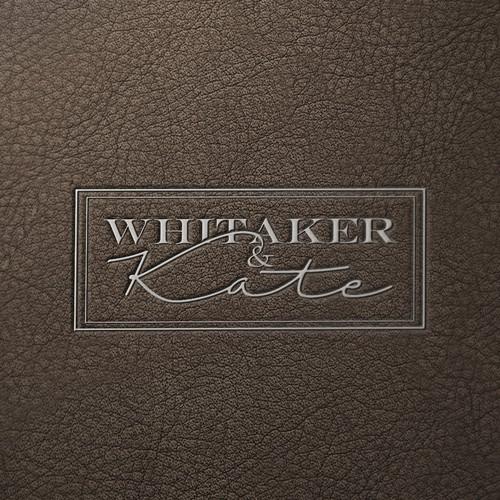 Wordmark lofo for luxury handmade leather goods