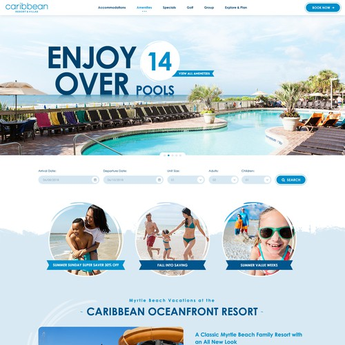Carribean Resort Layout