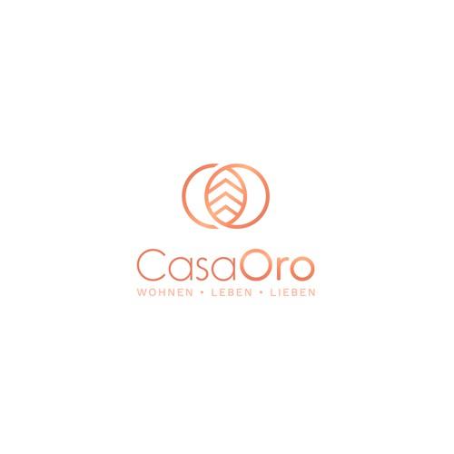 Lettering C+O+homes+leaf