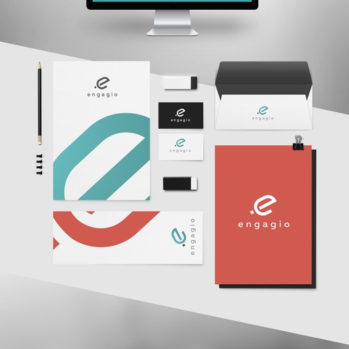 Create identity for a hot Silicon Valley enterprise start-up