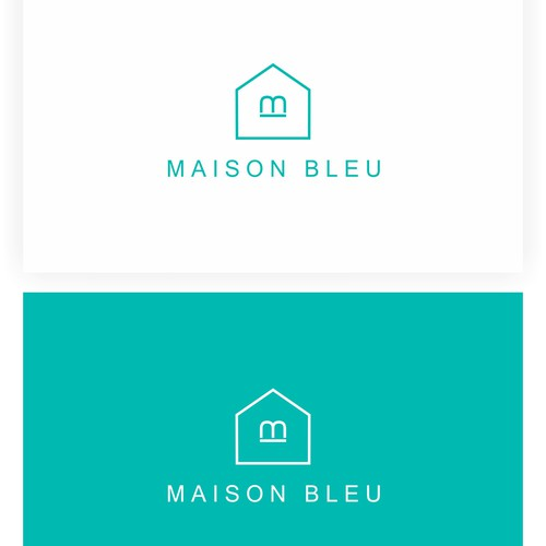 Create the next logo for Maison Bleu