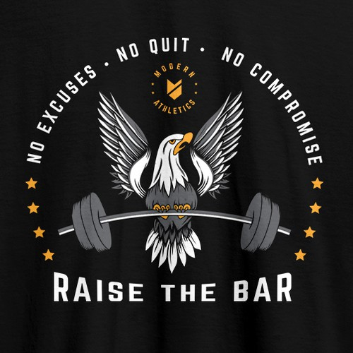 Raise the Bar - Gym tshirt