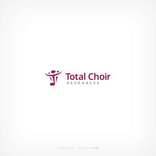 Logo concept for choir leaders training company