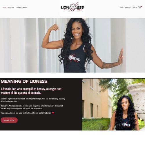 Website - Fitness Apparel