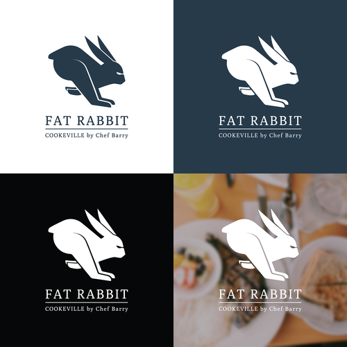 Eliminated Logo for a Restaurant and Bar.