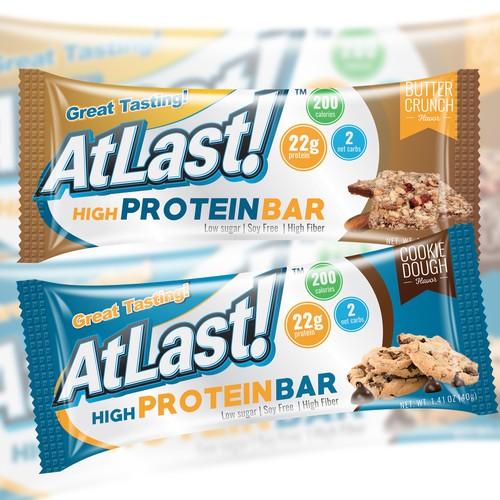 AtLast! Protein Bar Wrapper :)