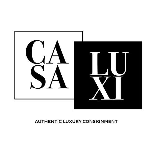 Luxury logo design for retail