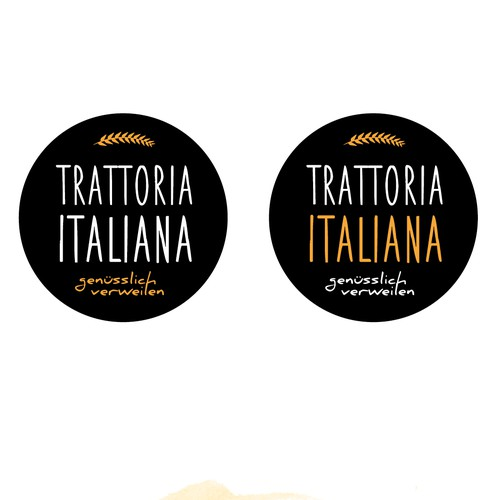 Logo Konzept Trattoria
