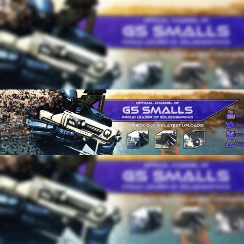 Youtube Banner Design for Smalls