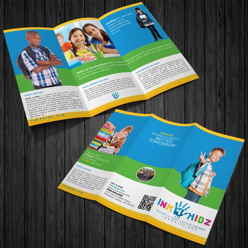 CHARITY BROCHURE FOR KIDS