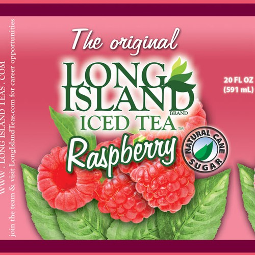 Help LONG ISLAND BRAND BEVERAGES with a new product label