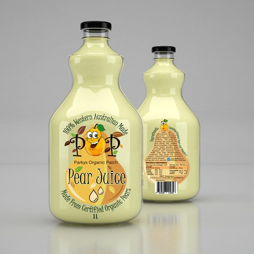 Design for Pear Juice