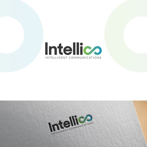 Intellico logo design