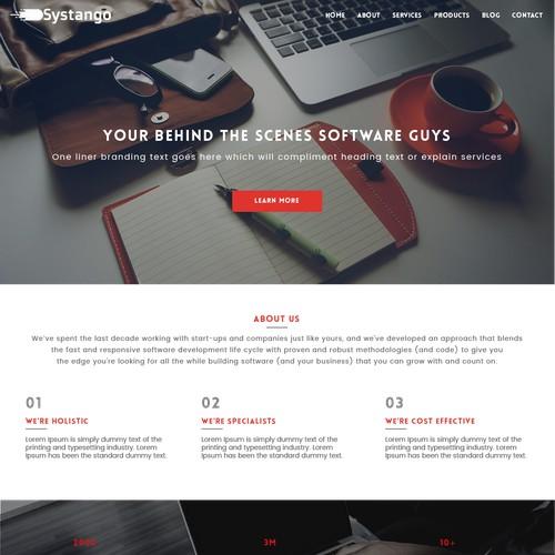 Systango- Webdesign
