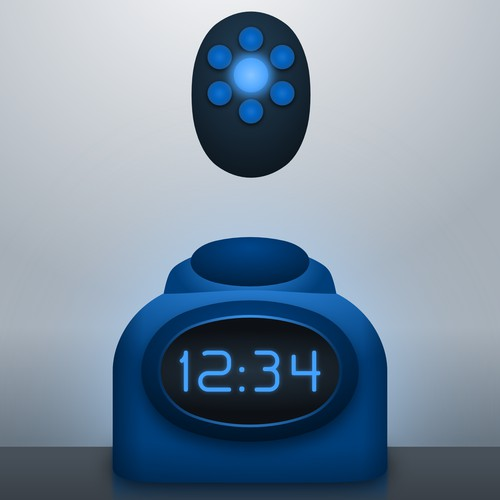 remote alarm clock