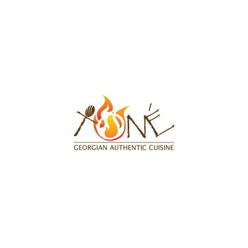 logo for TONE (E with accent / apostrophe  like Caffe)