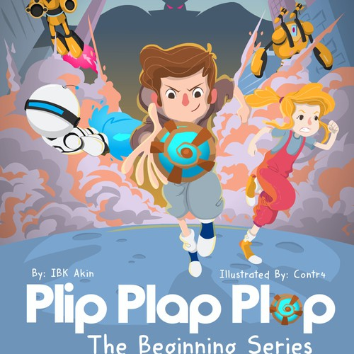 PLIP PLAP PLOP Book Cover