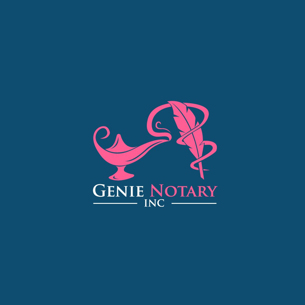 Genie Notary, Inc. is looking for a Logo
