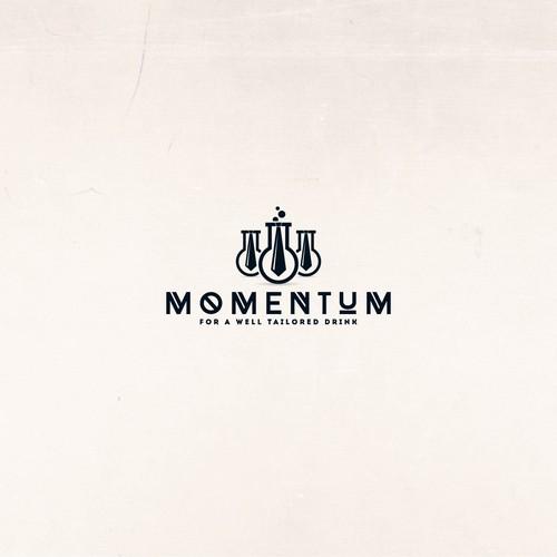 Logo concept for Momentum